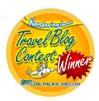 Cebu Pacific Travel Blog Winner