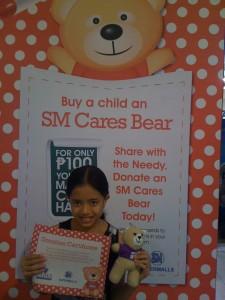 SM Cares Bear