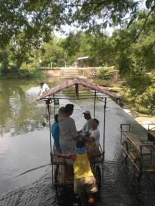 Dam in Las Pinas Zapote River constructed by St.Ezekiel Moreno, former parish pries of Las Pinas